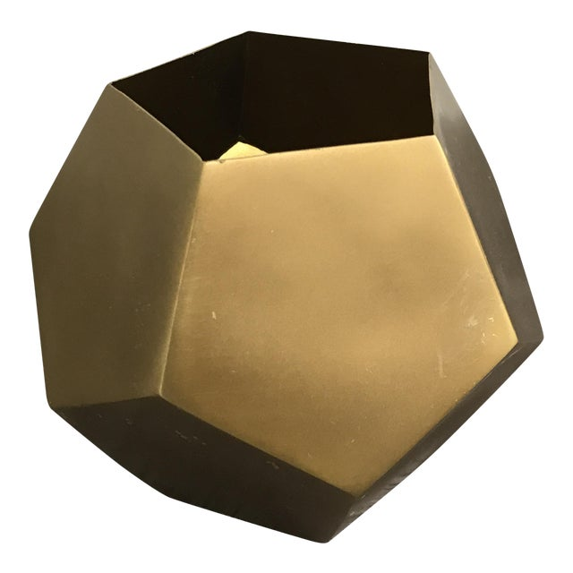 Restoration Hardware Aged Brass Bowl - Image 1 of 4