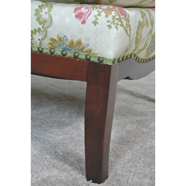 Vintage Floral Chaise Lounge For Sale In Chicago - Image 6 of 7