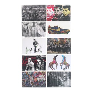 Mr. Brainwash Original Pop Art Exhibition Event Postcard Prints - Set of 10