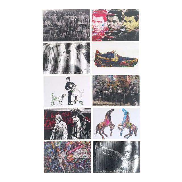 Mr. Brainwash Original Pop Art Exhibition Event Postcard Prints - Set of 10 For Sale
