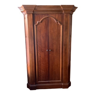 Romweber French Traditional Cherry Armoire For Sale
