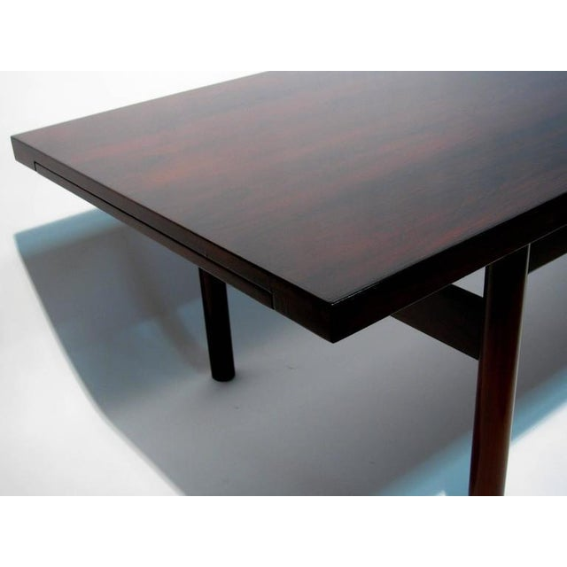 Modern Rosewood Coffee Table with Extending Top - Image 7 of 8