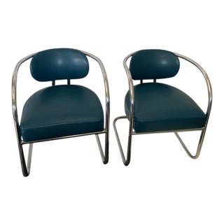 1970s Thonet Style Chairs - a Pair For Sale