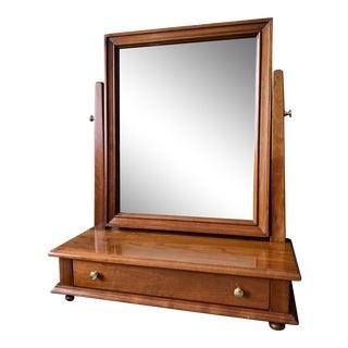 Vintage Stickley Cherry Shaving Mirror/Vanity For Sale