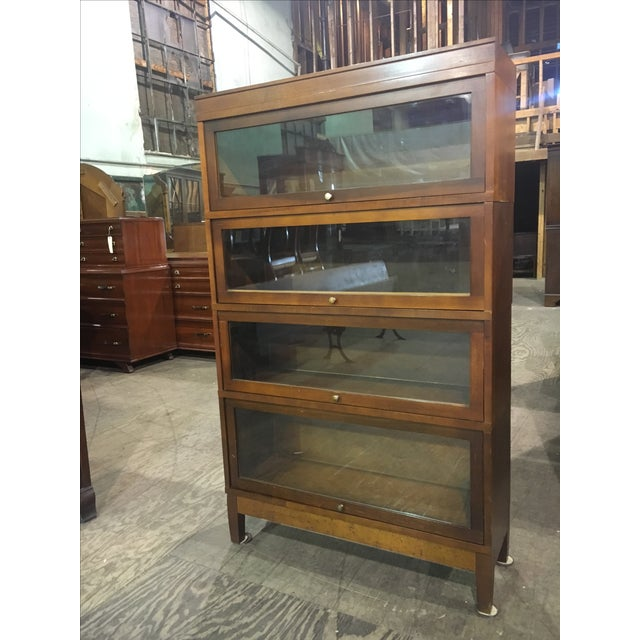 Antique Globe Wernicke Lawyer's Barrister Bookcase - Image 9 of 10