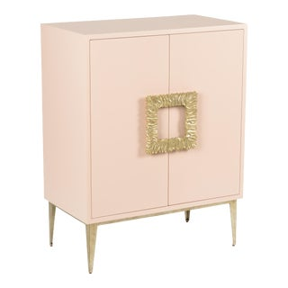 Maddox Cabinet, Pink For Sale