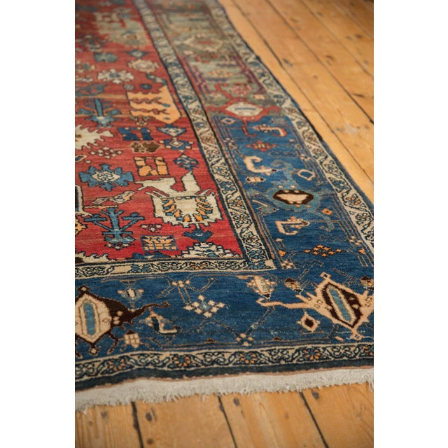 "Vintage Bijar Rug - 4'10"" X 7' For Sale - Image 10 of 13"