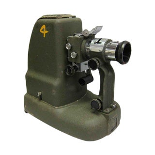 US Army Projector Machine With Case For Sale