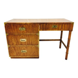 Vintage Campaign Style Desk