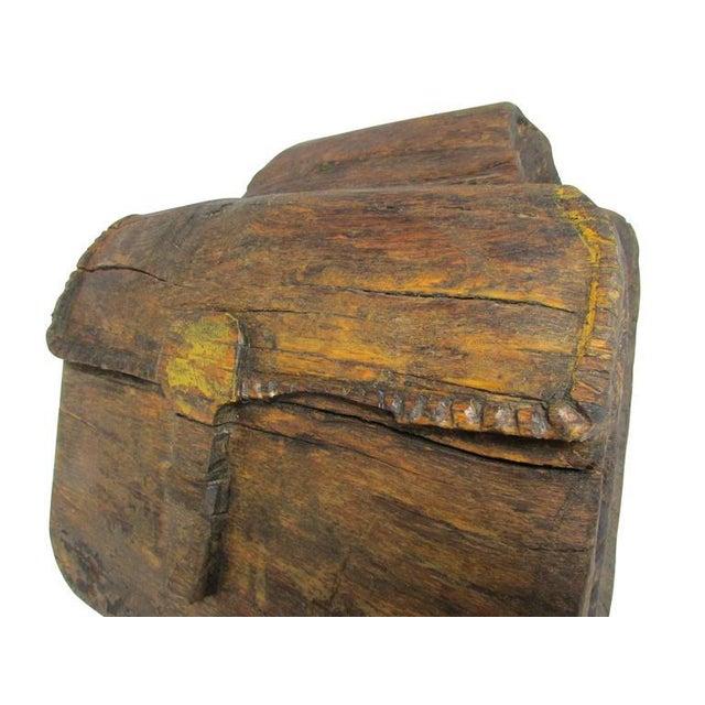 """1950s """"Ol' Saddlebags"""" Folk Art Carved Sculpture For Sale - Image 5 of 10"""