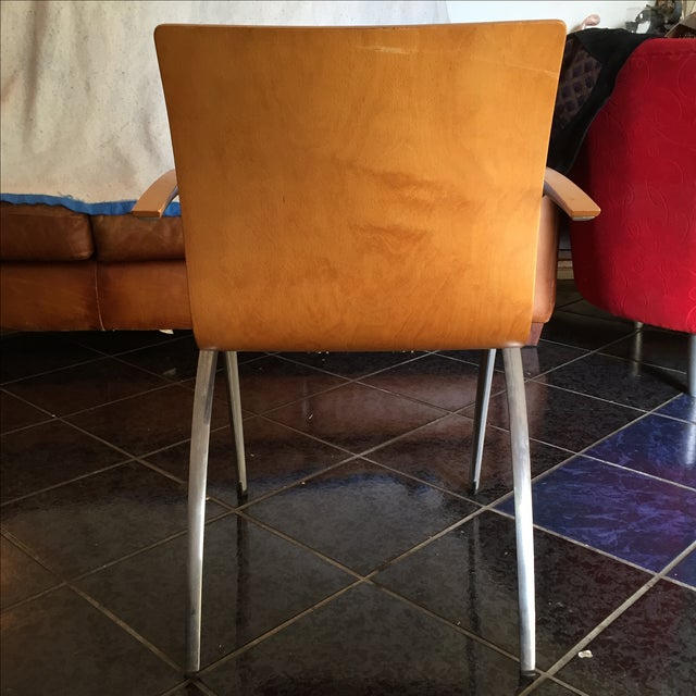 Davis Furniture Industries Brown Chairs - A Pair - Image 4 of 11