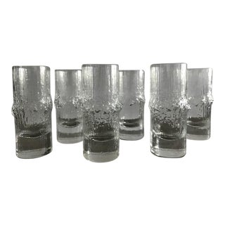 Iittala NiVa Cordial Shot Glasses - Set of 6 For Sale