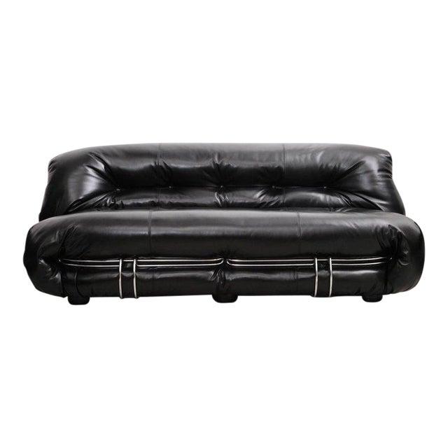 Cassina Soriana Sofa Set by Afra & Tobia Scarpa For Sale