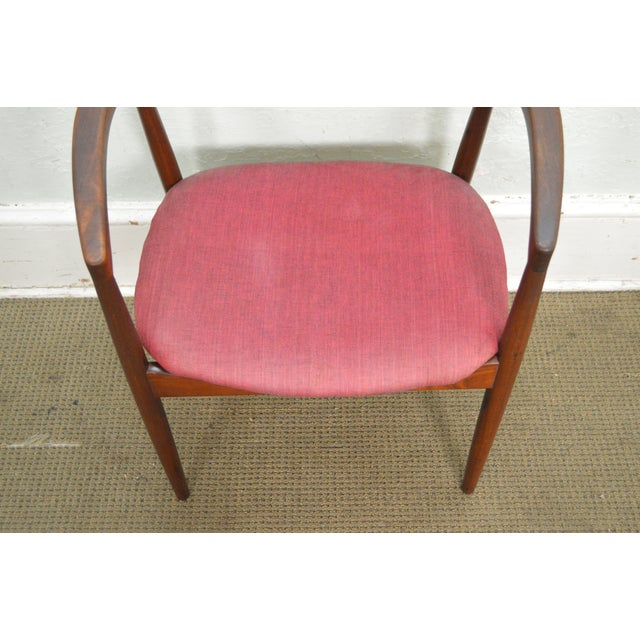STORE ITEM #: 15900 Danish Modern Vintage Curved Back Arm Chair by Raymor AGE/COUNTRY OF ORIGIN - Approx 50 years, America...