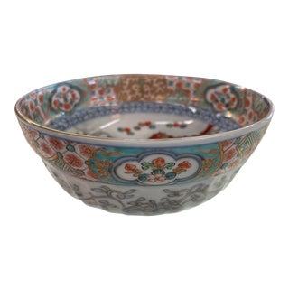 """Antique Japanese Imari Bowl 8"""" X 3.5"""" For Sale"""