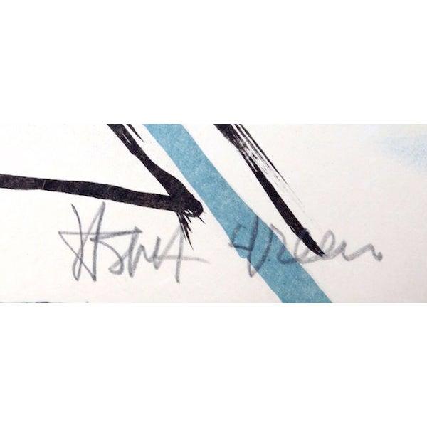 "Jasha Green, ""Untitled 9,"" Lithograph - Image 2 of 2"