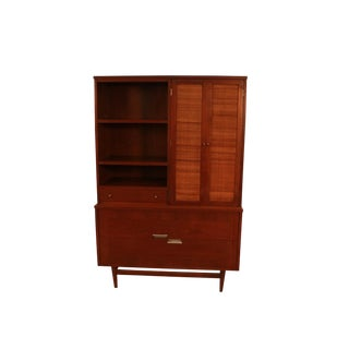 Mid-Century Modern American of Martinsville Cabinet Hutch For Sale