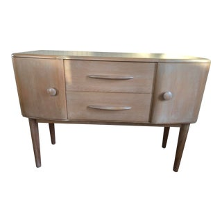 Mid-Century Modern Wooden Console Buffet For Sale