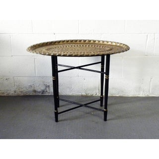 Mid Century Moroccan Style Tea Table Preview