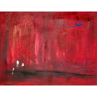 """""""L'année"""" Contemporary Abstract Expressionist Mixed-Media Painting by Brian Jerome For Sale"""