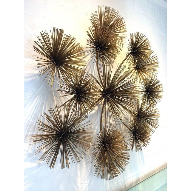 "Large Signed ""Pom Pom"" Wall Sculpture by Curtis Jere - Image 5 of 8"