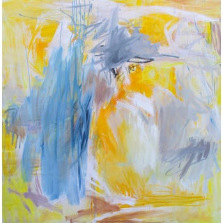 """""""Eclipse"""" by Trixie Pitts Large Abstract Expressionist Oil Painting For Sale"""