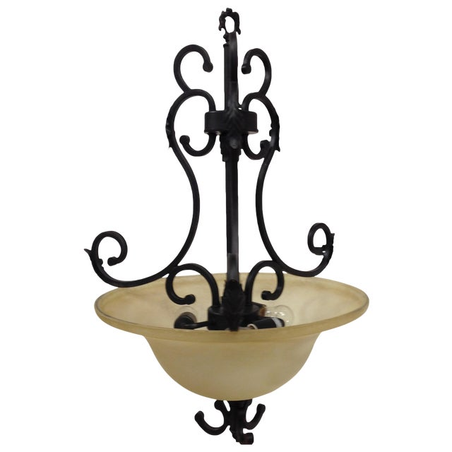 Oil Rubbed Bronze Dome Chandelier - Image 1 of 8