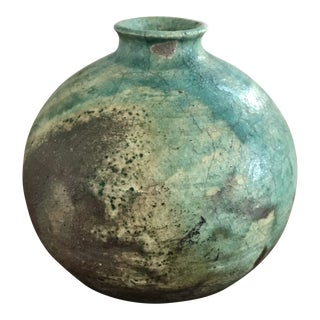 Mid 20th Century Pottery Bud Vase For Sale