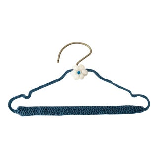 Handmade Knitted Clothes Hanger For Sale