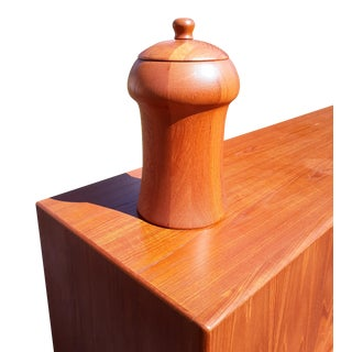 1960s Digsmed Danish Teak Ice Bucket For Sale