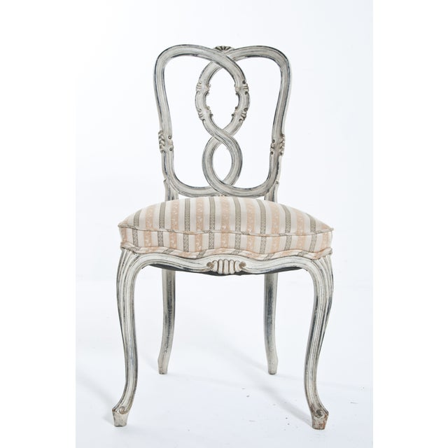 Painted Ribbon Chair For Sale - Image 4 of 8