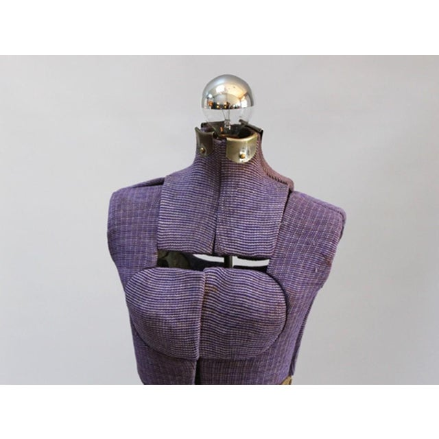Vintage Purple Mannequin Floor Lamp - Image 5 of 5