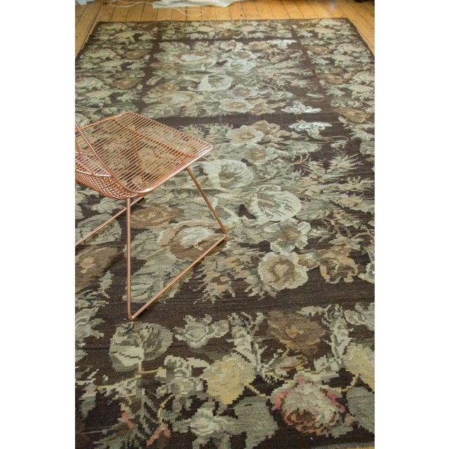 "Vintage Kilim Carpet - 7'8"" X 12'4"" - Image 4 of 8"