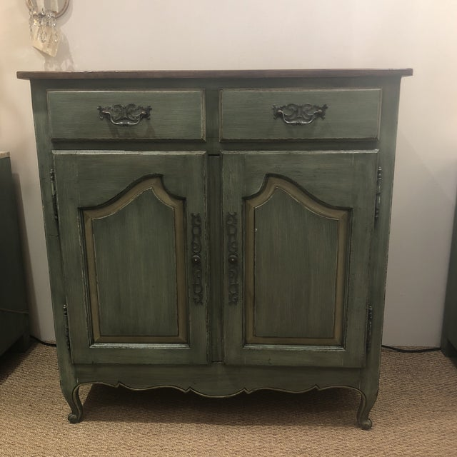 Keer collection French country cupboard retail value $5565. Awesome color beautiful French country piece!