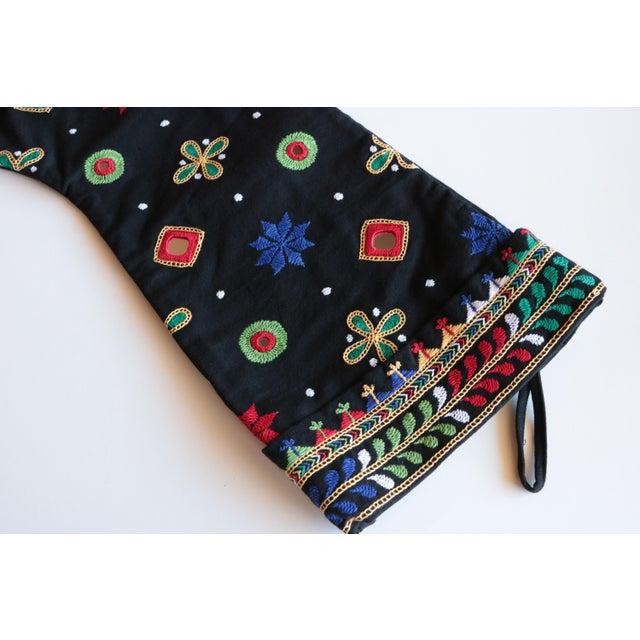 Asian Indian Shisha Christmas Stocking For Sale - Image 3 of 6