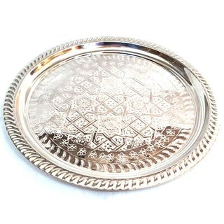 Moroccan Silver Tray Preview