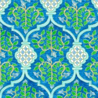 Ferran Sevilla Fabric, Sample, Lapis in Belgian Linen For Sale