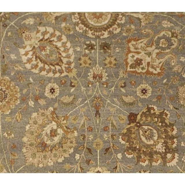"""Traditional Hand Knotted Indian Rug - 10'x 14'5"""" For Sale - Image 3 of 7"""