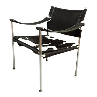 "1960s Scandinavian Modern Sigurd Ressell and Cato Mansrud ""Irafas"" Safari Chair For Sale"