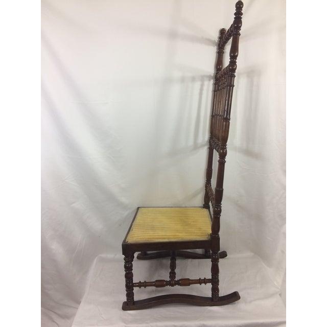 Napoleon III High Back Spindle Chair - Image 2 of 8