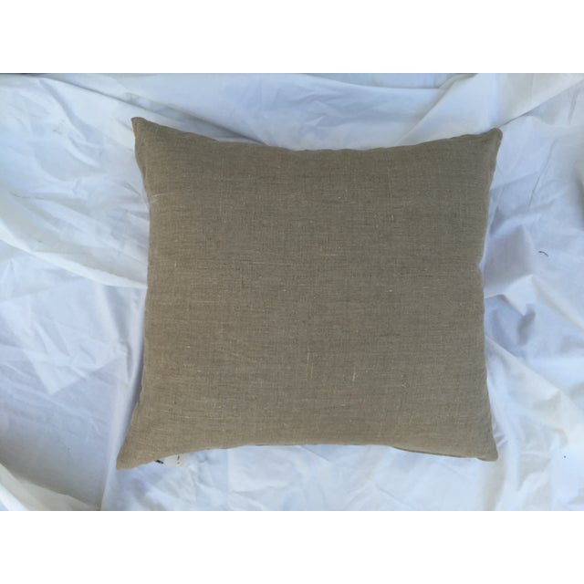 African Kuba Maze Pillow For Sale - Image 5 of 5