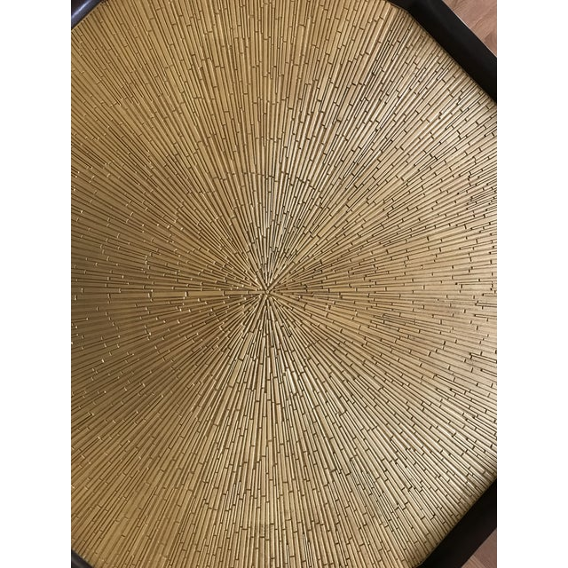 Baker Furniture Company Thomas Pheasant for Baker Radiant Center Table For Sale - Image 4 of 6