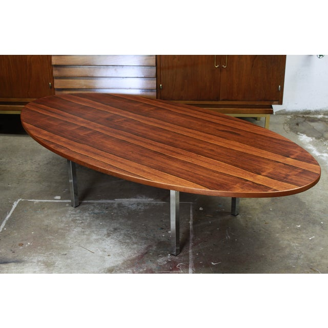 Thayer Coggin Brazillian Rosewood Coffee Table - Image 2 of 6