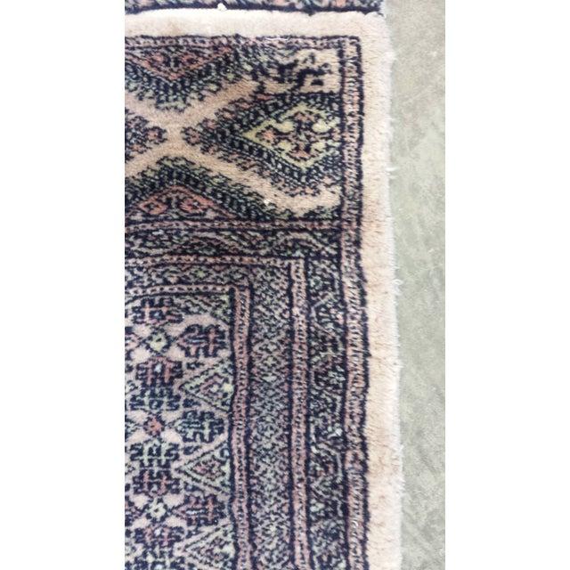Brown Medallion Boteh Motif Rug - 3′11″ × 6′3″ For Sale - Image 8 of 13