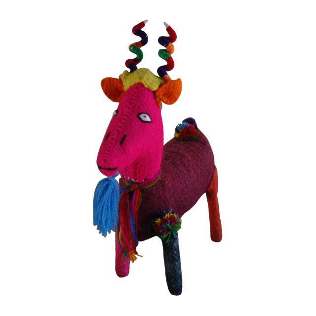 Mexican Felted Wool Animal - Image 1 of 4