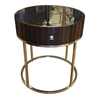 Manhattan Round Designer End Table by Barclays Butera