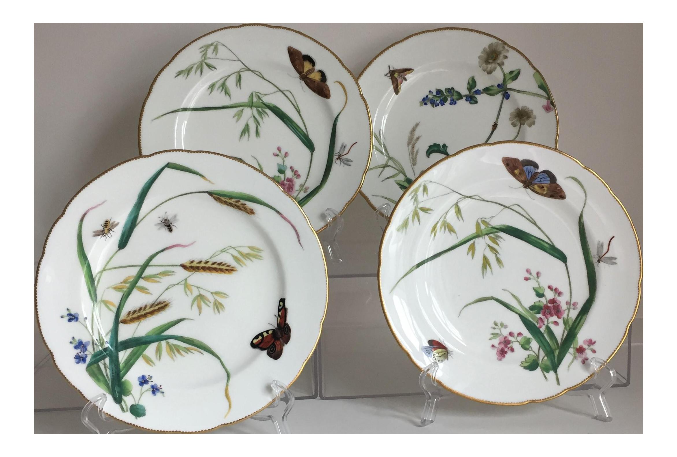 Minton Dessert Plates - Set of 4  sc 1 st  Chairish & Minton Dessert Plates - Set of 4   Chairish
