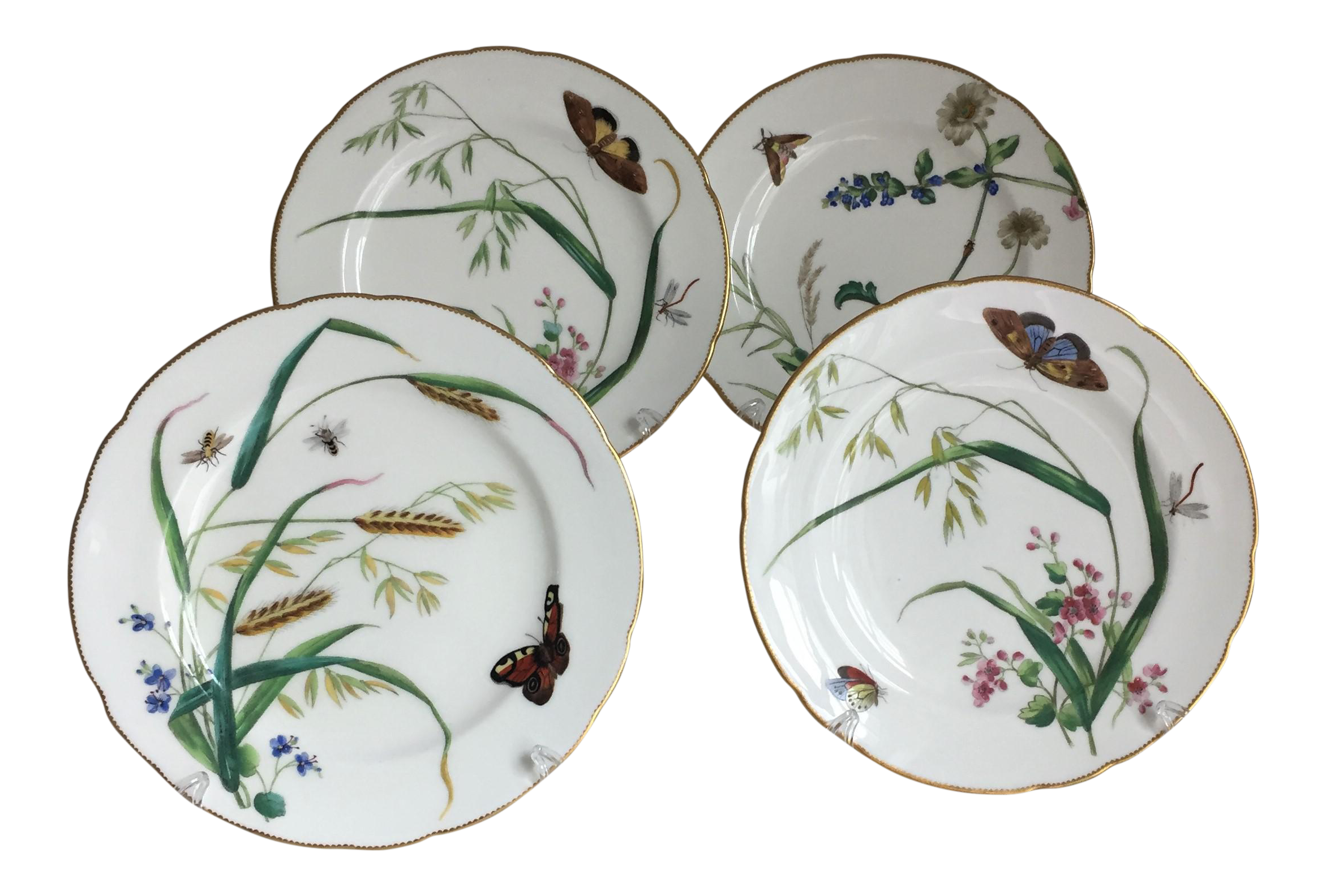 Minton Dessert Plates - Set of 4  sc 1 st  Chairish & Minton Dessert Plates - Set of 4 | Chairish