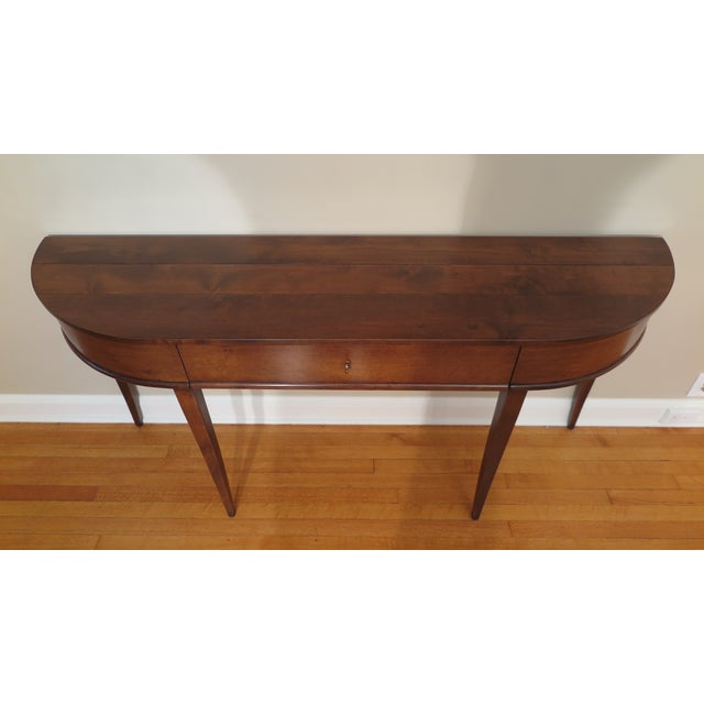 Transitional Niermann Weeks Frascati Console Table For Sale - Image 3 of 10