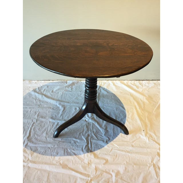English Country Oak Side Table, Circa 1860 For Sale - Image 11 of 11